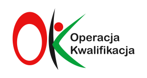 OK logo z obszarem ochronnym